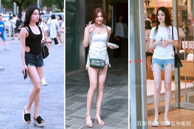 街拍:回头率超高的时尚潮女,夏日时尚美女的穿搭就是好看