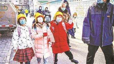 本市小學生 開始放寒假