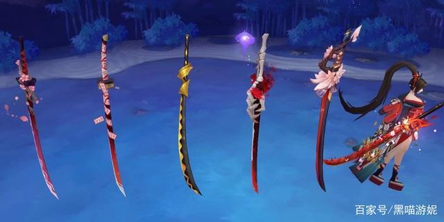 阴阳师:三位SSR姿度解包图汇总 妖刀姬有五把刀 阎魔能变6个包子