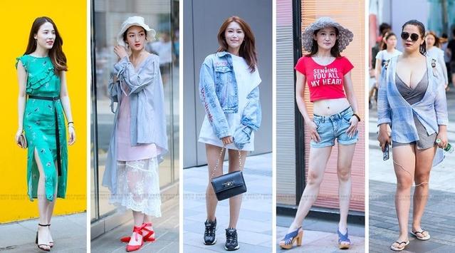 北京街拍:盛夏清爽潮拍让你一次看个够,这里是时尚潮人们聚集地