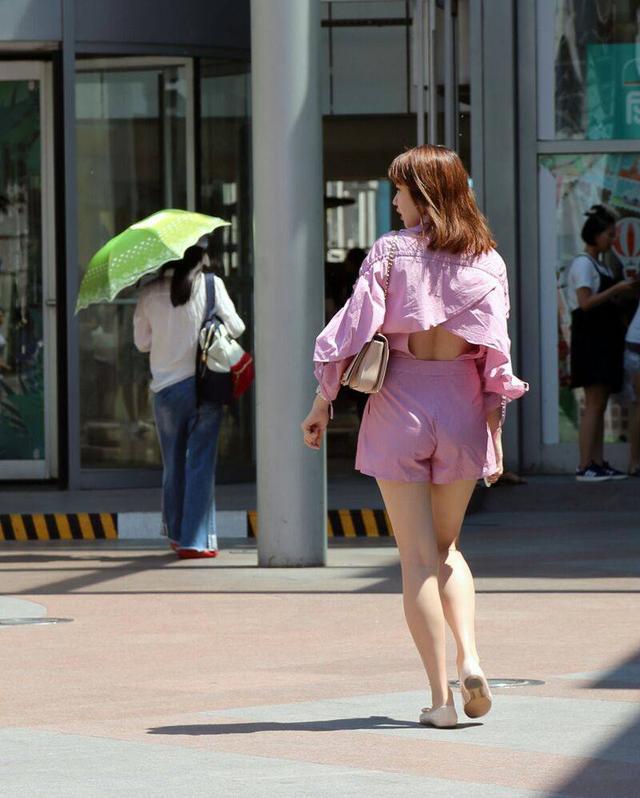 街拍 中央大街:哈尔滨姑娘