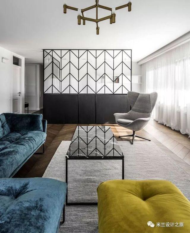 【现代】现代公寓这样的设计太牛了!-第2张图片-赵波设计师_云南昆明室内设计师_黑色四叶草博客