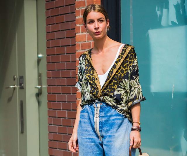 今年流行的这四种短袖你有吗?32套时髦搭配,夏天这么穿才对