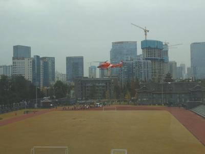 四川首例空中救援 空中120一个半小时完成转运
