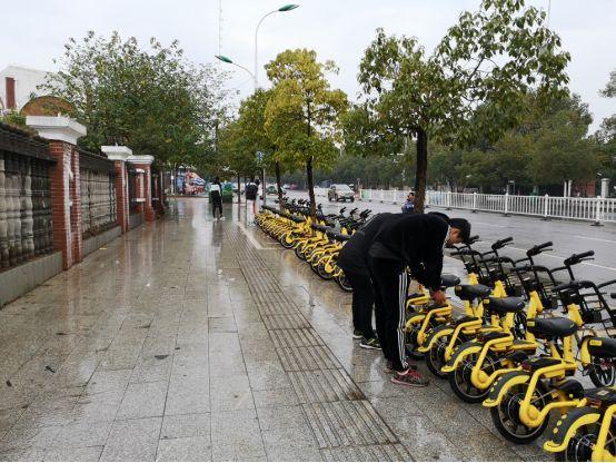 安义县引进智能无桩共享电单车,科学监管便民利民
