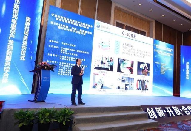宁波市打造综合性服务平台的新型光电显示产业