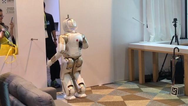 优必选CTO熊友军:仿人服务机器人将加速走入家庭,公司已盈利