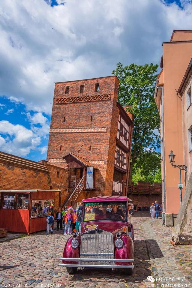 托伦:红砖砌成的哥特小镇