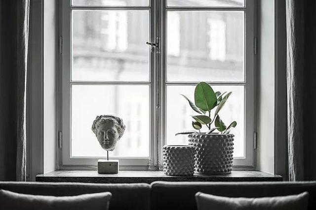 【现代】白+灰现代公寓, 塑造优雅设计感-第9张图片-赵波设计师_云南昆明室内设计师_黑色四叶草博客