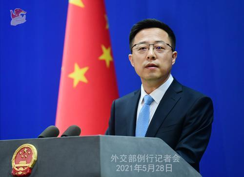 外交部:中方的目標從來不是取代美國 而是超越自我