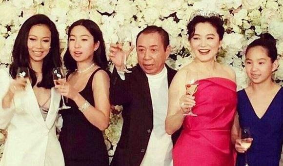 林青霞与丈夫孩子