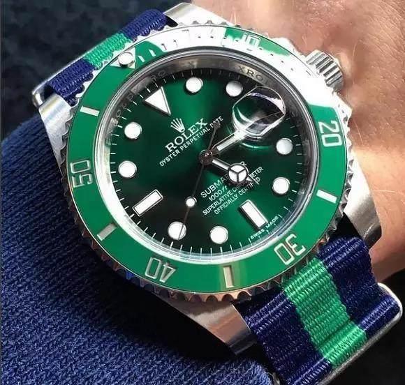 劳力士绿水鬼手表多少钱?