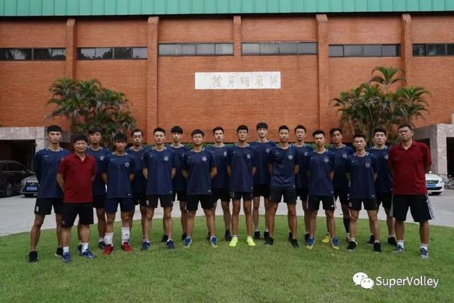 「CUVA中国大学生排球联赛南方男子组巡礼」中山大学男排