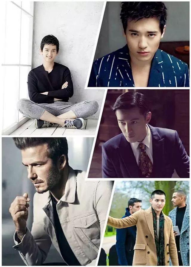 五款帅气男生发型&打理技巧,帅呆了!