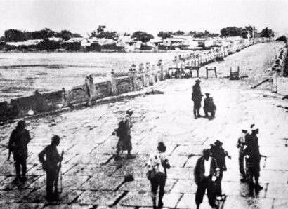 八十载,不忘中国守军寸土不让,不忘日本侵略者