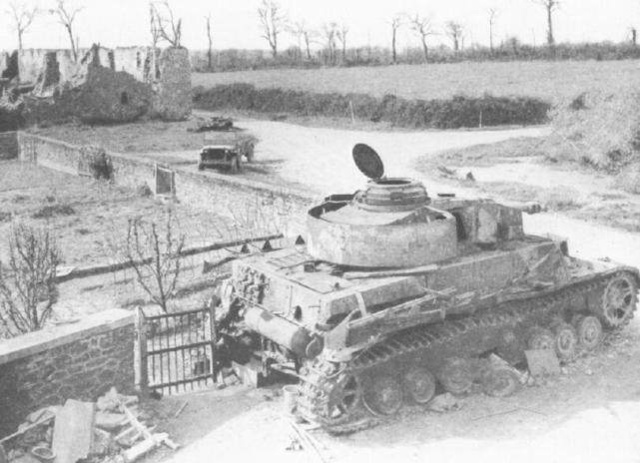 德军精锐装甲教导师,诺曼底战役图集