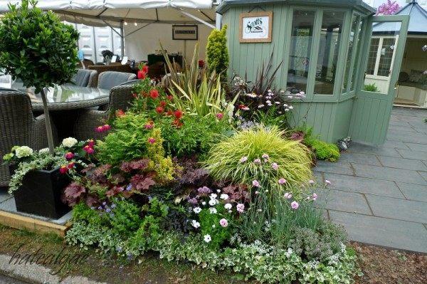 """看了一天""""园艺展"""":花园设计,花园用品,花卉展示!"""