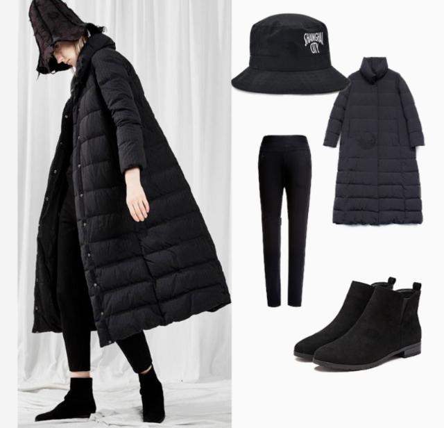 冬季服饰搭配拒绝臃肿 做个不失温度的美女子
