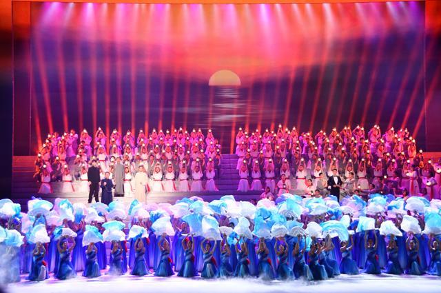 精彩紛呈!山東省慶祝中國共產黨成立100周年文藝演出舉行