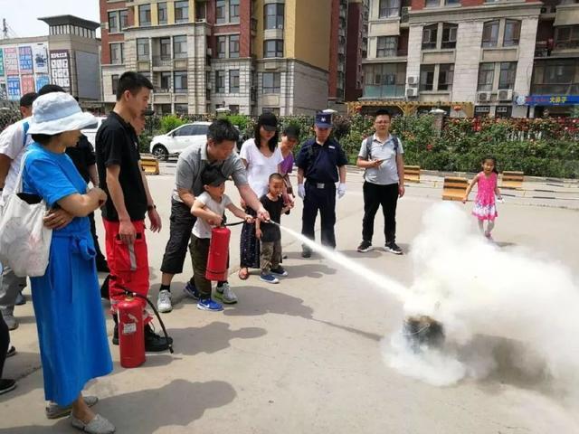 牧德科技走进中海城圣朝菲小区开展火灾应急逃生培训活动