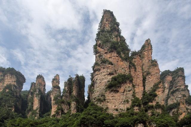 正月初二张家界 比桂林更奇特更富野性