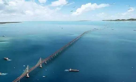 中国为什么要花上千亿  建一座不能通车的大桥?