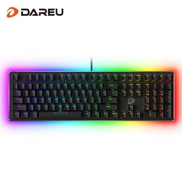 达尔优发布暗夜流光EK925 RGB机械键盘