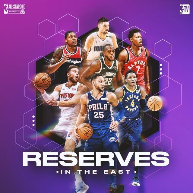 美职篮|NBA官网|公布全明星赛14位候补球员名单