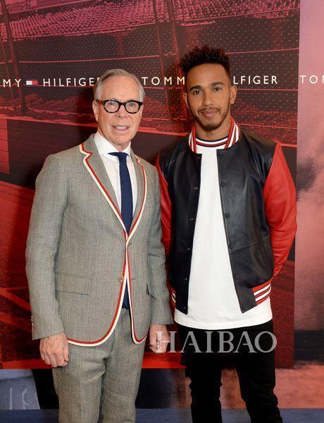 Tommy Hilfiger宣布F1世界冠军刘易斯·汉密尔顿 (Lewis Hamilton...