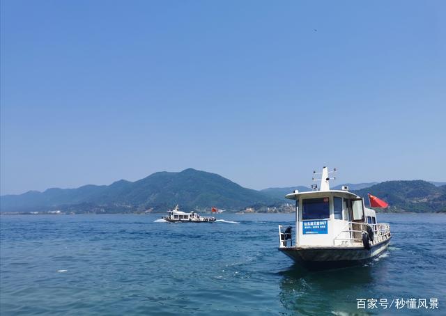 """湖北黄石,也有一个""""千岛湖"""",可以乘船欣赏群星璀璨的岛屿风光"""
