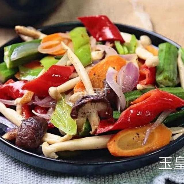 杂蔬荟,清新爽口,吃多少都不会长肉