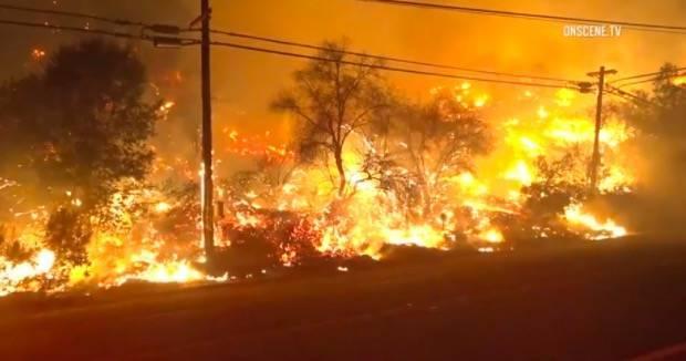 持续失控!加州野火依旧猛烈 火势已经烧到太平洋