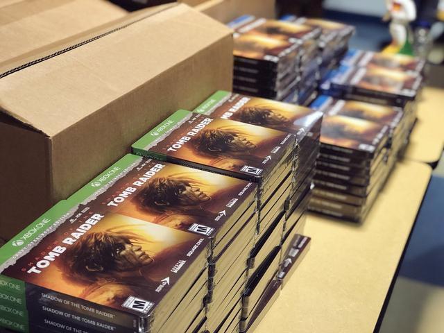《古墓丽影:暗影》开发商给员工发游戏 羡慕不已