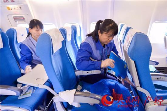 客舱保障员:日换椅套2000个的快手团队