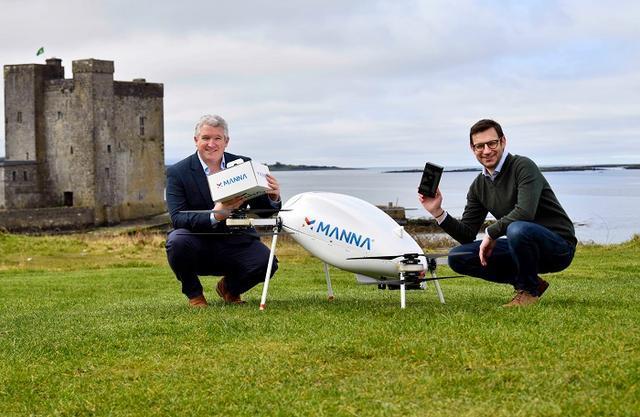 三星首次推出無人機配送服務 可實現小鎮三分鐘內送達