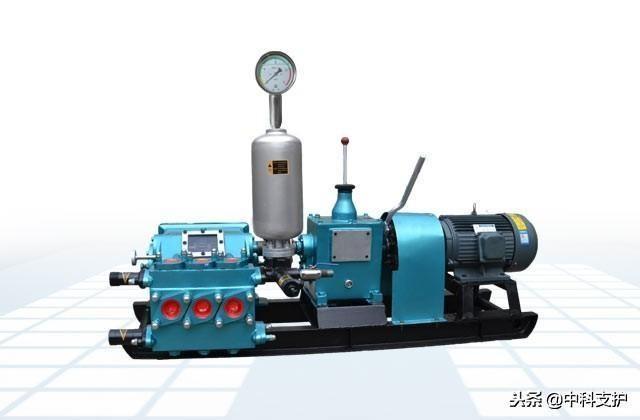 BW150三缸注浆泵具有八种速度,通过变速机构可实现流量调节