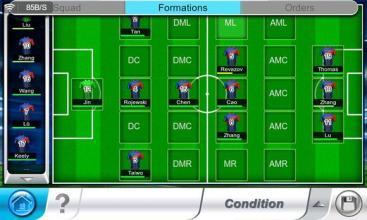足球中各个位置的英文缩写