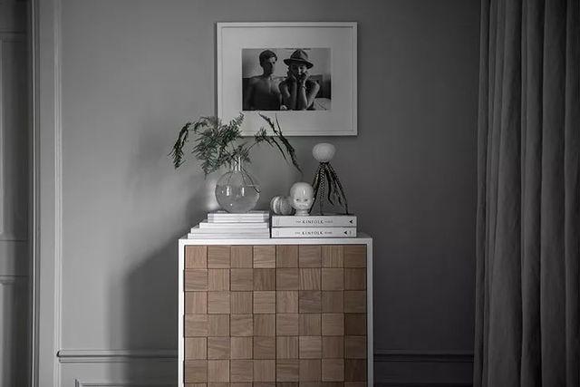 【现代】白+灰现代公寓, 塑造优雅设计感-第8张图片-赵波设计师_云南昆明室内设计师_黑色四叶草博客