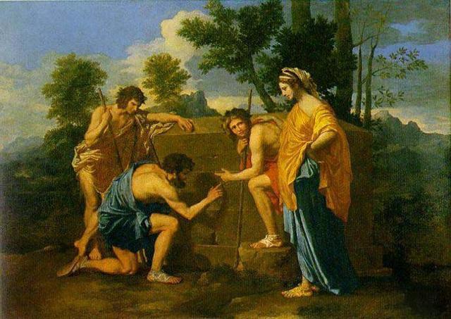 世界名画500幅(95)阿卡迪亚的牧人