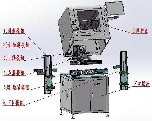 全自动点胶机的原理?
