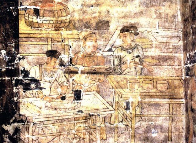 北宋汉人的日常生活图景--山西玉泉村金代古墓