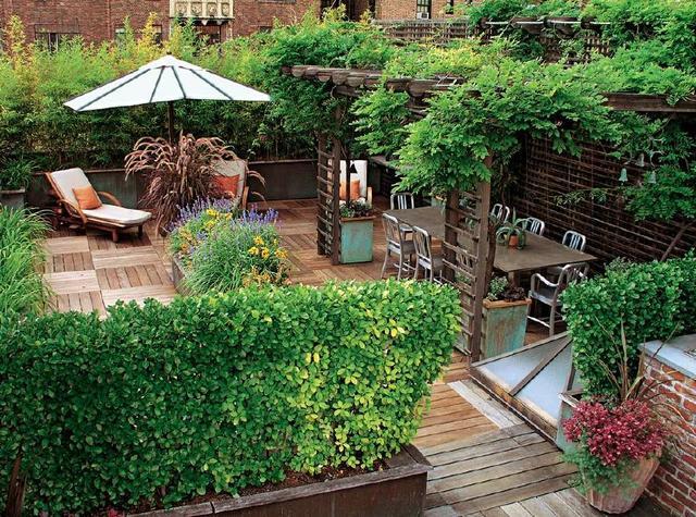 你的空中花园太重吗?屋顶上有承重限制 屋顶的重量根据建筑结构分为不同的等级