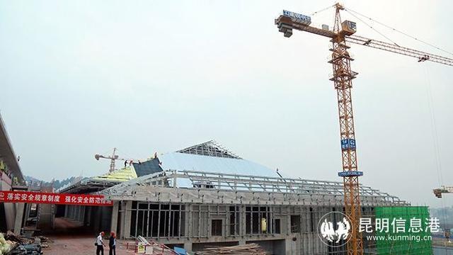 中老鐵路國內段11個車站站房主體工程完工 預計年內投用