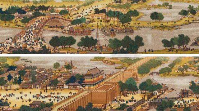历史名画《清明上河图》放大后暗藏玄机,网友说:这尺度太大了