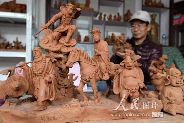 河北邯郸:农民艺人的泥人梦