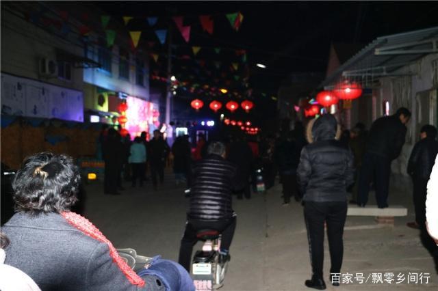 """章丘绣惠街道这个村有个新年俗:过大年看""""村晚"""""""
