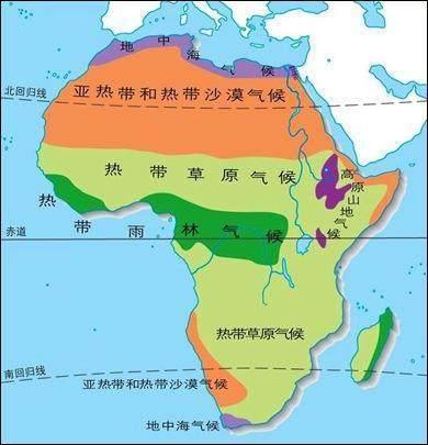 八张地图揭示黑非洲为什么经济发展不起来?