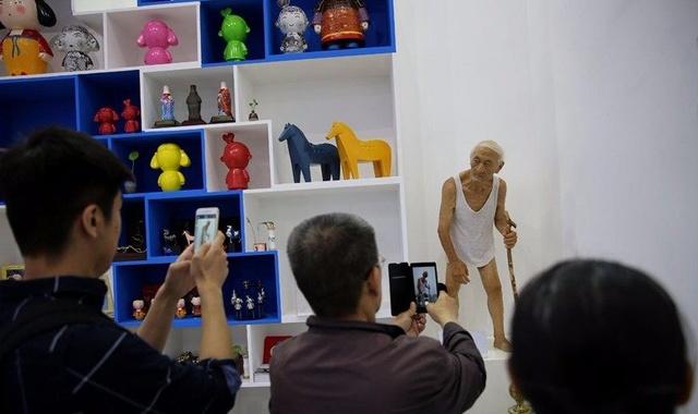 3D打印出来的大爷能以假乱真!