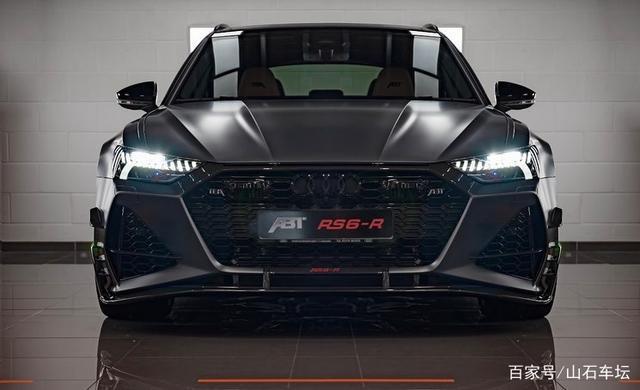 """""""能文能武""""的奧迪RS6,600馬力3.6秒破百,ABT改裝之後更霸氣"""