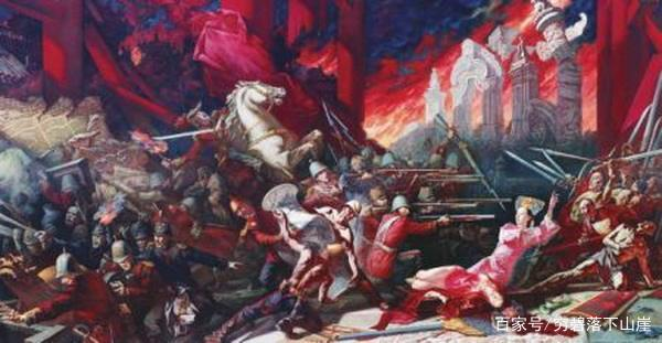 八国联军为什么在糟蹋圆明园的时候放过了故宫?